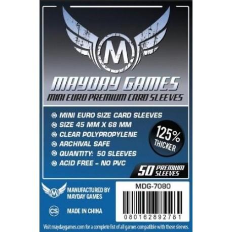 Fundas Premium Mayday Mini Euro (45 mm x 68 mm ) (50 uds)