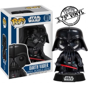 Star Wars POP! Vinyl Cabezón Darth Vader 10 cm