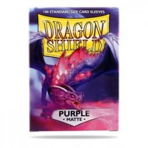 Fundas Dragon Shield Matte Purple - Morado Mate (100 uds)