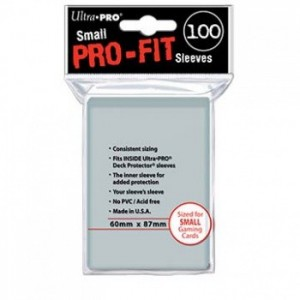 Fundas Pro-Fit Small - 60 x 87 mm (100 fundas) - Ultra Pro