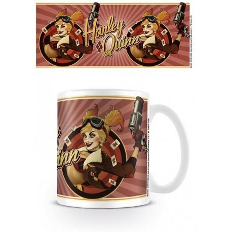 Taza Harley Quinn Red - DC Comics Bombshells